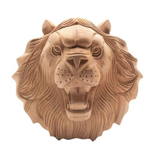 lion wood rosette