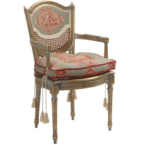 Louis XVI Carved Armchair