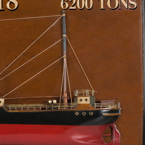 Tramp Steamer Rangoon Ship Model