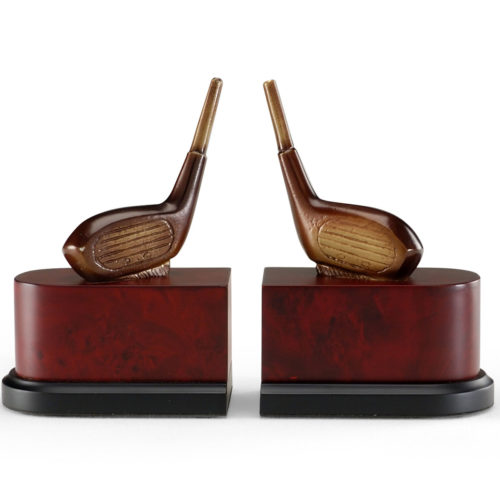 Golf Drivers Bookends