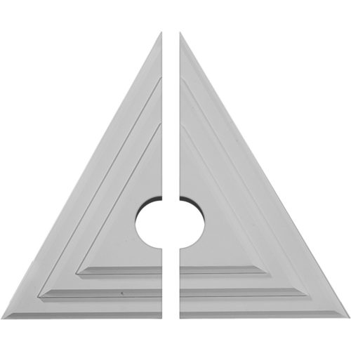 two piece Triangular Ceiling Medallion