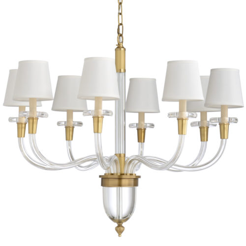 Eight Light Chandelier