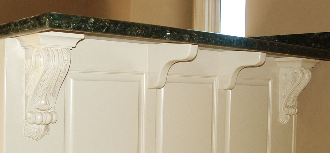 Corbels And Brackets For Kitchen Counters Inviting Home