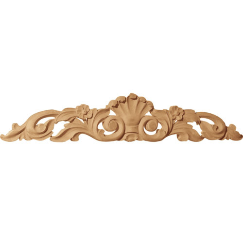 Floral leaf wood carvings are hand crafted from premium selected hardwoods