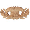 Pasadena wooden onlays are hand carved from premium selected hardwoods. Onlays feature carved in deep relief elegant design with roses and leaves