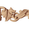 Merced grape wood onlays are hand crafted from premium selected white hardwood. Wood carving features carved in deep relief grape clusters and grapevine design