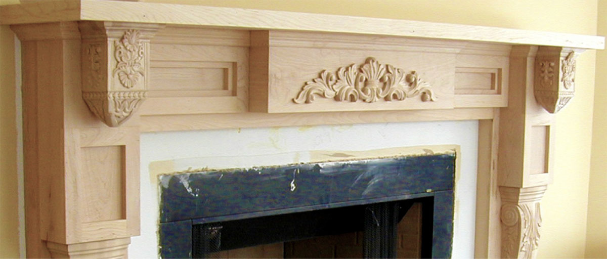 Designing Fireplace Mantels And Building Fireplace Mantels