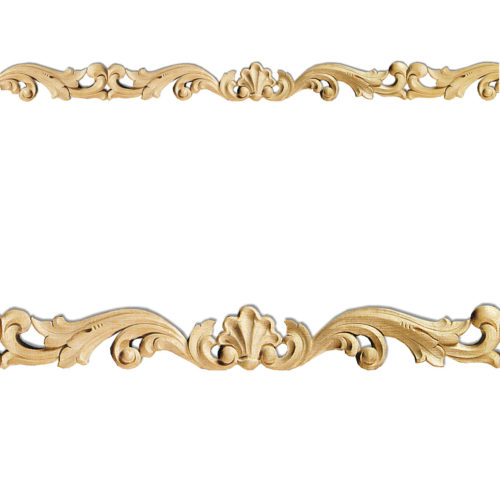 Quality carved wood pierced molding