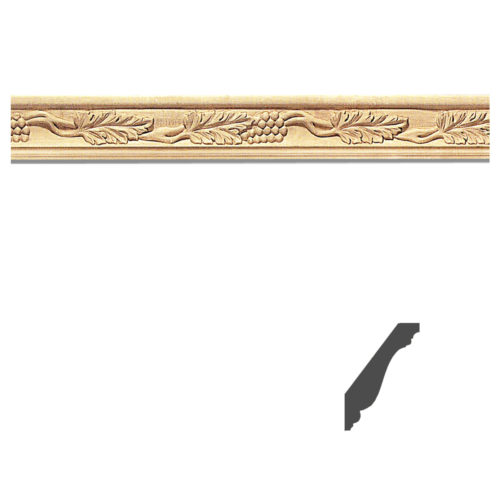 Quality carved wood molding