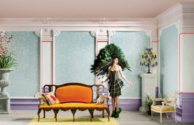 Magical interior design with variety of moldings; Interior design inspiration; decorative molding ideas