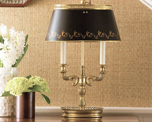 lamps with black shades