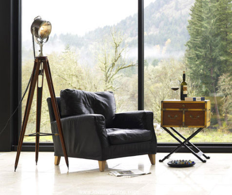 hand-crafted tripod lamps adaptations and replicas of historical designs