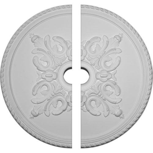 two piece Ventura Ceiling Medallion