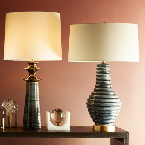 table lamps with beautiful crystal accessories