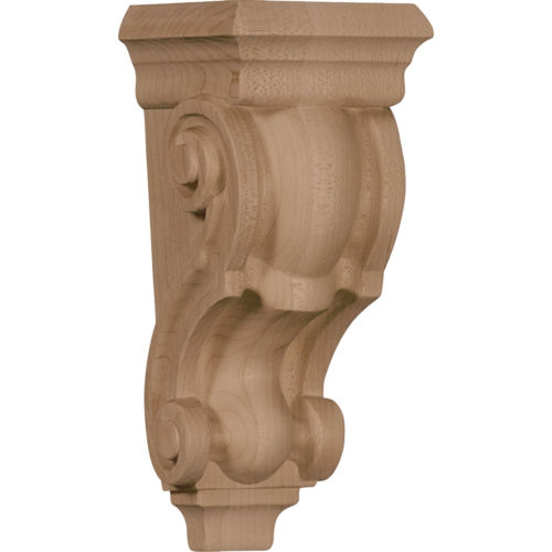 The Classic wood corbel is carved from the highest quality of wood
