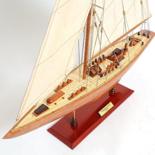 A magnificent model to be displayed as a home or office decor. Master craftsmen handcraft these highly detailed wood models from scratch using historical photographs, drawings and original plan.